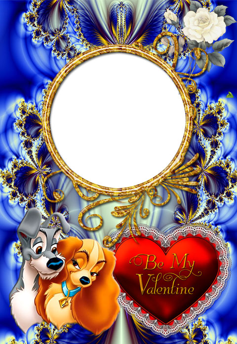 Amazing Valentine's Day photo frame