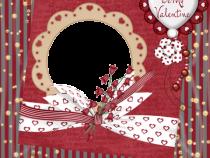 Beautiful Valentine photo frame