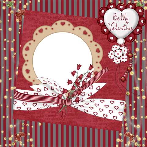 Beautiful Valentine photo frame