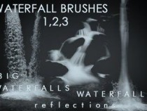 Waterfall Photoshop Brushes