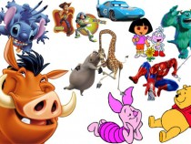 Favourite cartoon heroes