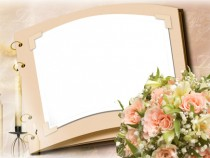 Pure love photo frame