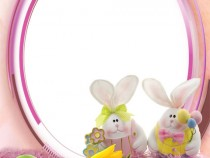Easter fun photo frame