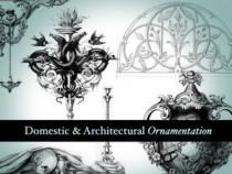 Architectural ornamentation brushes