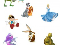 Disney and Pixar cartoon heroes
