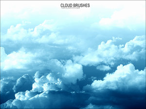 Cloud brushes for Photoshop