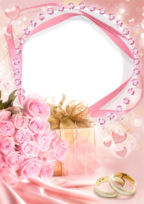 Wedding gift photo frame