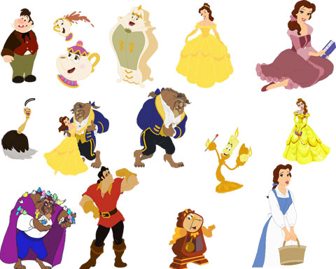 Beauty and the Beast « Photoshop Tutorials and Add-ons ...