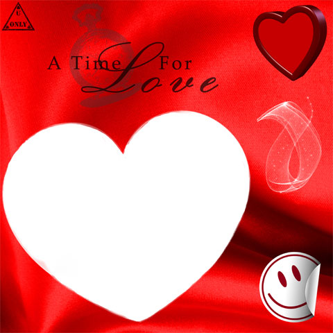 A time for love photo frame