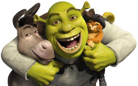 Shrek with friends