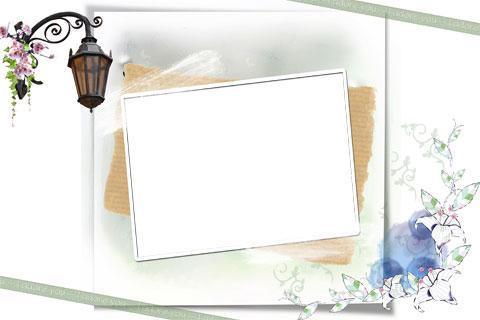 Adore me photo frame