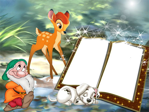 Bambi photo frame