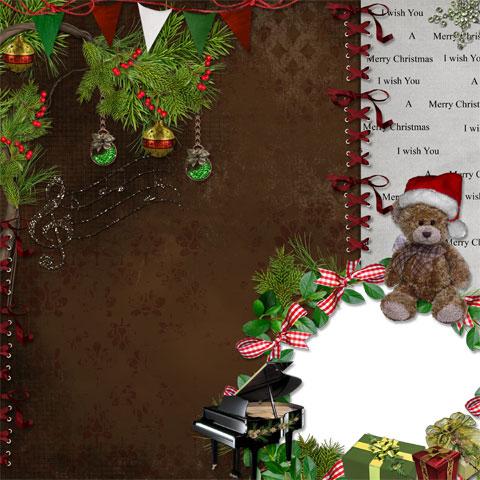 Christmas dreams photo frame