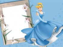 Cinderella photo frame