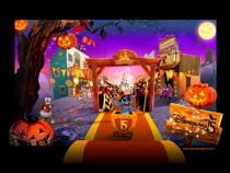 Halloween in Disneyland