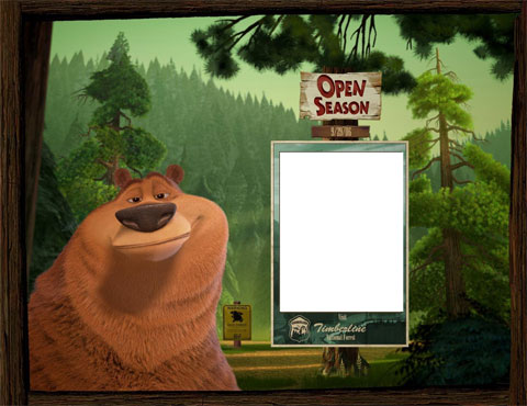 Open Season photo frame