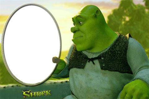Shrek photo frame