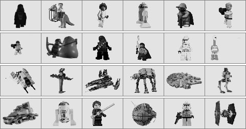Star wars lego brushes preview