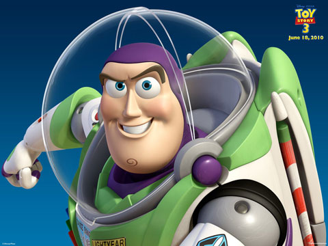 Toy story 3: Buzz Lightyear wallpaper