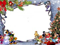 New Year with Mickey photo frame