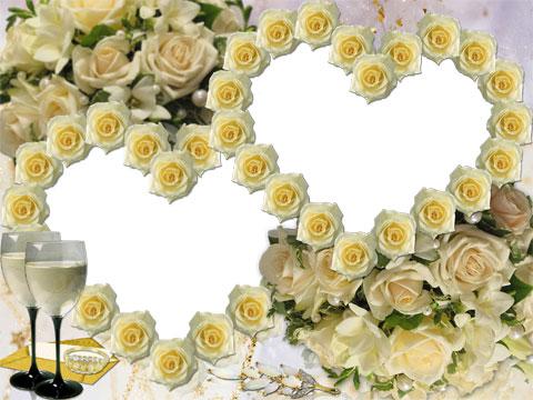 Symbol of softness photo frame