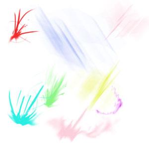 Radon brushes for Photoshop
