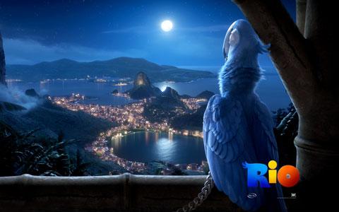 Rio - Blu wallpaper
