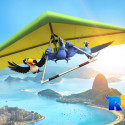 Rio - Flying Blu wallpaper
