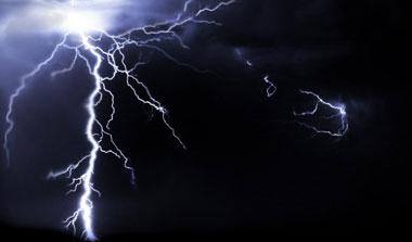 Lightning bolts brushes