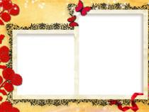 Autumn memories photo frame