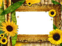 Fabulous fall photo frame