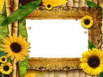 Fabulous fall photo frame