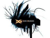 Rush brushes for Photoshop