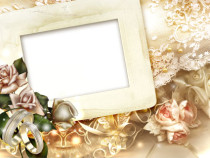 A Day To Remember wedding photo frame